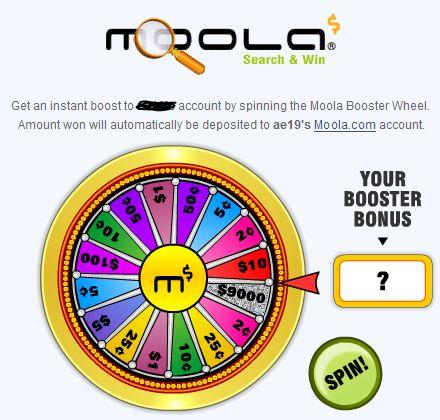 Moola Wheel