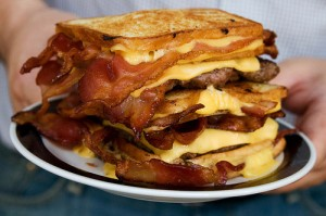 The Bacon Hamburger Fatty Melt